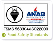 food safety satandards